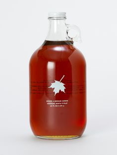 Butternut Mountain Maple Syrup handmade deep in Vermont's woods. #shopterrain #pinapresent #goodnaturedgifts