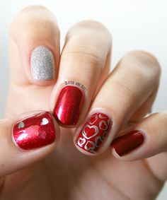 Glitter and Nails: Mix'n'Match de St Valentin
