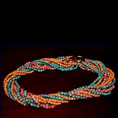 Twist a beads.....my mom had these in EVERY color and I thought they were so cool!