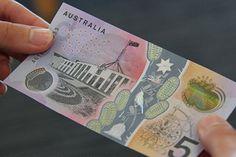 Le nouveau billet de banque australien recèle de nombreux effets visuels