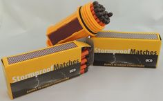Bundle - 2 Items: UCO Match Container Kit with 75 UCO Stormproof Matches - Waterproof and Windproof * Check out this great product.