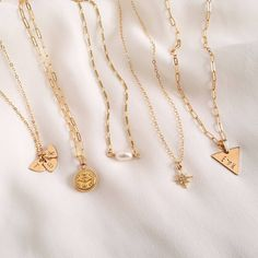 Laying out some of our faves 🖤 Gold Necklace, Instagram, Jewelry, Gold Pendant Necklace, Jewlery, Jewels, Jewerly, Jewelery, Gold Bar Necklace