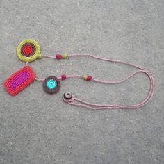 Crochet Motif Necklace by gitte