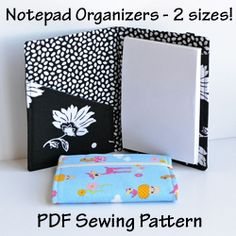 Notepad Organizers PDF Pattern - you could probably figure this out yourself given a bit of time ???