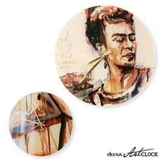 "its ART´o´clock  wall clock ""FRIDA"""