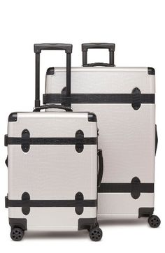 CALPAK 2-Piece 30-Inch Trunk & 22-Inch Trunk Rolling Luggage Set | Nordstrom