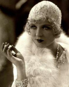 Silent Film Actress Phyllis Haver (1928)