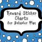 This product includes two sample daily behavior plans and three versions of a reward sticker chart to be used with any behavior plan.  The three ve...