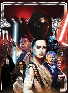 The Force Awakens by Kelvin Chan [©2015]