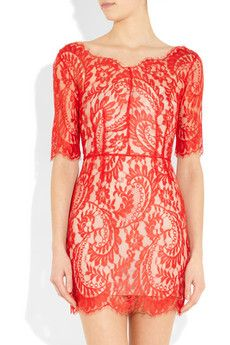 LOVER Christina lace dress. Want!!