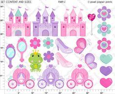 Pretty Princess Princess clipart Clip art by pixelpaperprints