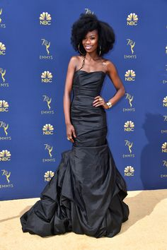 Xosha Roquemore - Every Stunning Dress On The 2018 Emmy Awards Red Carpet - Photos