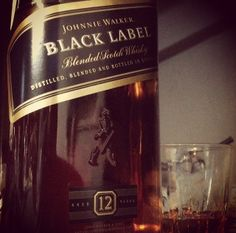 Johnnie Walker Black Label. Good choice for mixing in a variety of Scotch Cocktails.