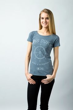 HMS Duke 100% Organic Women's Scoop Tee