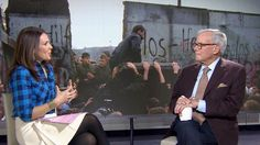 Tom Brokaw on the anniversary of the fall of the Berlin Wall Berlin Wall Fall, Tom Brokaw, Baby Carriage, New Names, Nbc News, 25th Anniversary, Just In Case, 1980s, Toms