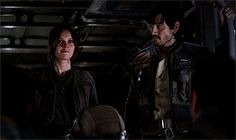 If they came back from Scarif, Cassian would say: Jyn led this mission. Jyn would say: Cassian led this mission.