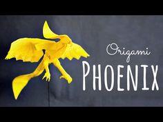 How to make an origami Phoenix (Hongyi Wan) - YouTube