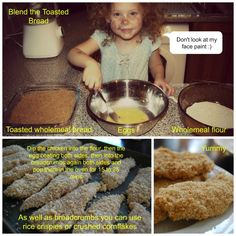 Chicken Nuggets made from scratch