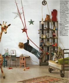 vintage kids rooms - Buscar con Google