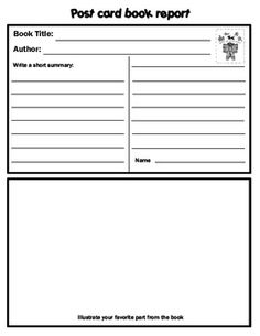 Great Book Review Template   Pinteres