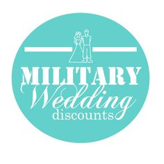Military Wedding Discounts - Perfect for all our military brides!!