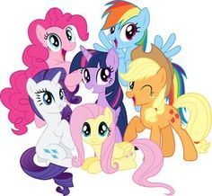 The Mane Six all look awesome.