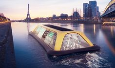 Italian architects Carlo Ratti Associati have just unveiled a floating gym powered by the energy harvested from workouts.
