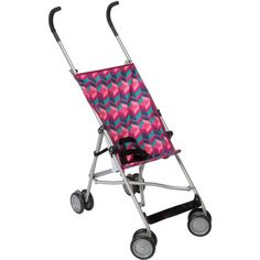 Cosco Umbrella Stroller, Choose Your Pattern, Pink Best Double Pram, Double Prams, Best Double Stroller, Double Strollers, Cheap Strollers, Best Tandem Stroller, Jogging Stroller, Babies R Us, Baby Girl Strollers