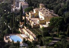 Villa Leopolda, Villefranche-sur-mer, France Owner: Lily Safra with a net worth $1.3 billion! Purchase Price: $500 million euro - $750 million at the time in 2008. King Leopold II reportedly built various waterside homes for his mistresses. This is a 20-acre estate.  Russian billionaire Mikhail Prokhorov started to buy the estate but eventually pulled out of the deal, thus forfeiting a $50 million euro deposit.