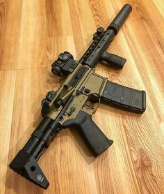 """"""" from - ・・・ I can assure you this gun is cool as all hell and Hollywood quiet! Weapons Guns, Airsoft Guns, Guns And Ammo, Tactical Life, Tactical Gear, Ar Pistol, Mens Toys, Tactical Equipment, Submachine Gun"""