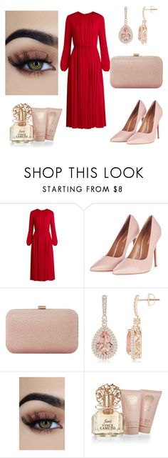 """night"" by linamakovskaya on Polyvore featuring мода, Valentino, Topshop, Dune и Vince Camuto"