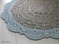 סנורקה לארג' (ומדיום…) – דוגמת שטיח דויילי בחוטי טריקו – עושה עיניים