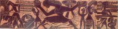 """""""El hombre que hizo hablar al barro: las placas de Pedro Mercedes para el mercado municipal de Cuenca"""" exposición en el Centro Cultural Aguirre Marzo/Abril 2007 #CentroCulturalAguirre #Cuenca #PedroMercedes"""