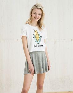 BSK Shirt 'Unicorn/Mafia'. Entdecken Sie diese und viele andere Kleidungsstücke in Bershka unter neue Produkte jede Woche