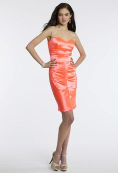 Camille La Vie Short Party Prom Dress