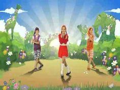 Just Dance Kids 2 - Crocodile Rock (Wii Rip) (+playlist)