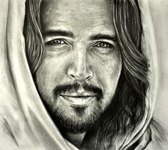 "... ""Son of God"" is a 2014 American epic biblical drama film.The film retells the life of Jesus; Diogo Morgado portrayed Jesus in the film. Graphite pencil drawing by Heidi Kriel"