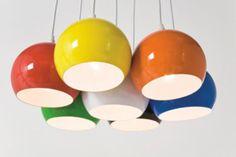 Hängelampe Lampe Design Retro 70er Pendant Light Eames