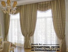 Top Trends Living Room Curtain Styles, Luxury Classic Curtains And Window  Treatments For Living Room