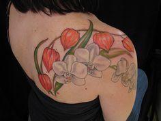beautiful tattoos on Pinterest | Ship Tattoos, Flower ...