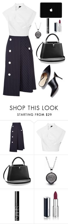 """""""Untitled #2187"""" by ebramos ❤ liked on Polyvore featuring Dorothee Schumacher, NARS Cosmetics and Givenchy"""