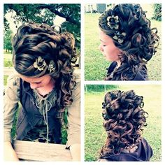 Her Hair Is Amazing! I So Want To Learn How Do This Hair Style To My Hair.