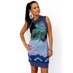 Blue Acantha Smash Dress Winter Dresses, Formal Dresses, Winter Colors, Cover Up, Turquoise, My Style, Unique, Prints, Blue