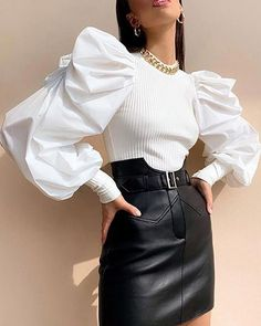 34 Women's Blouses For Women outfit fashion casualoutfit fashiontrends Source by flohmarktlimburg blouses fashion Classy Outfits, Stylish Outfits, Classy Business Outfits, Girly Outfits, Beautiful Outfits, Look Fashion, Womens Fashion, Fashion Trends, New Fashion