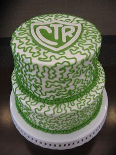 CTR Cake-  Would be great for refreshments at a child's baptism too.