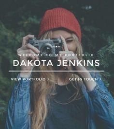 Portfolio Joomla Template - Homepage