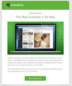 Evernote 5 is coming soon for Mac! Here's some inspiration to get you started on a paperless lifestyle.