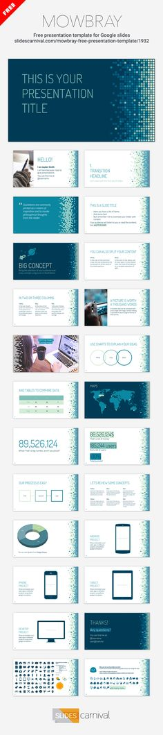 84 best Free presentation templates images on Pinterest - consulting presentation templates