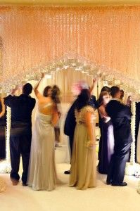 hanging escort cards... if its possible it would be awesome..