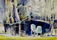 Sterling Edwards   Watercolors Painting